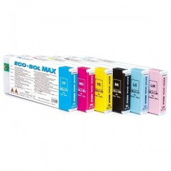 ROLAND ESL3-4BK ECO-SOL MAX BLACK INK CARTRIDGE 440ML