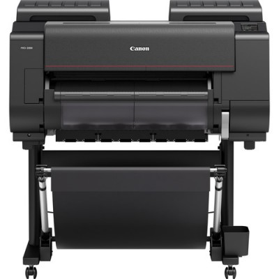 """Canon imagePROGRAF PRO-2000 24"""" Professional Photographic Large-Format Inkjet Printer with Multifunction Roll System"""