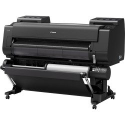 """Canon imagePROGRAF PRO-4000S 44"""" Professional Production Signage Large-Format Inkjet Printer with Multifunction Roll System"""